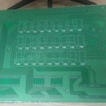 Printed circuit board designed during the time at Nomanini